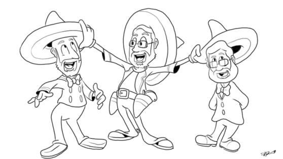 3caballeros