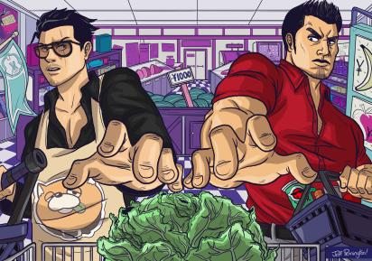 Supermarket Showdown