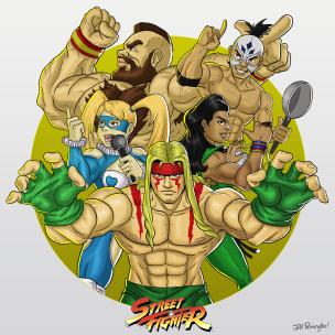 streetfighter_wrestlers